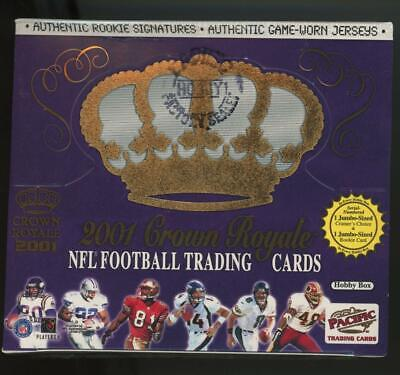 2001 Pacific Crown Royale Factory Sealed Hobby Box Drew Brees RC Auto?