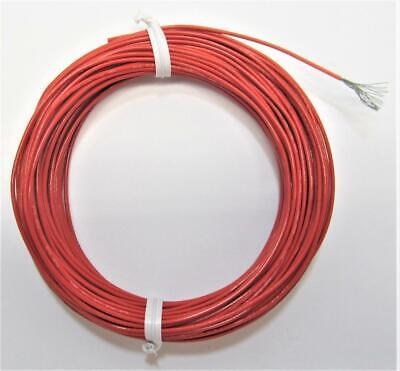 50 Ft 20 Awg Red Mil-spec M2275932-20-2 Stranded Aviation Wire 10