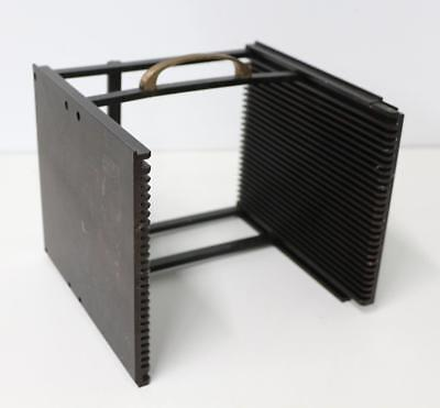"""25-Slot New Perfection Products FFM-4607-01 Wafer Frame 15/"""" x 15/"""" x 1//4/"""" Slots"""