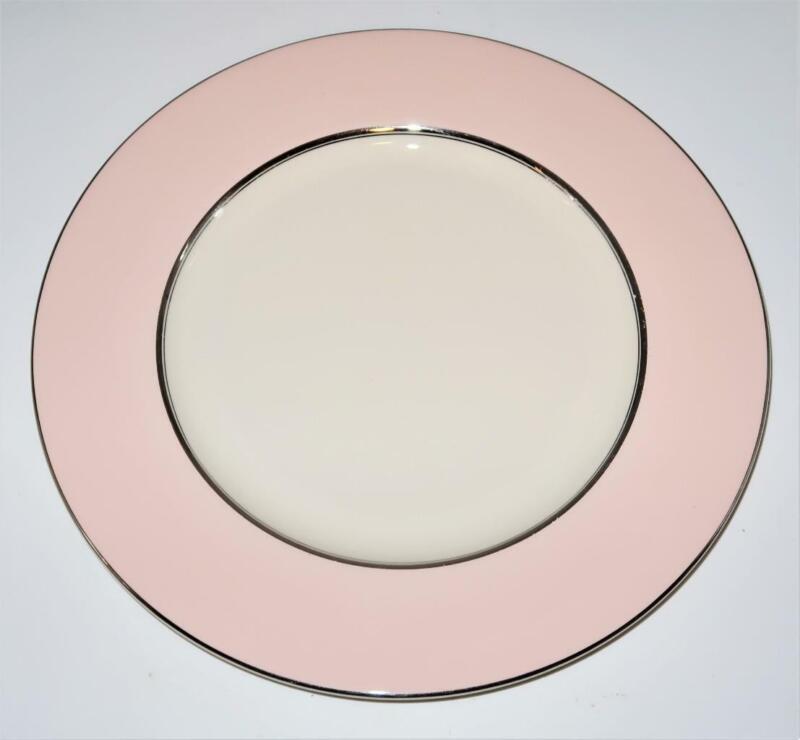 """Castleton China SHELL PINK Dinner Plate, 10 3/4"""" Across"""
