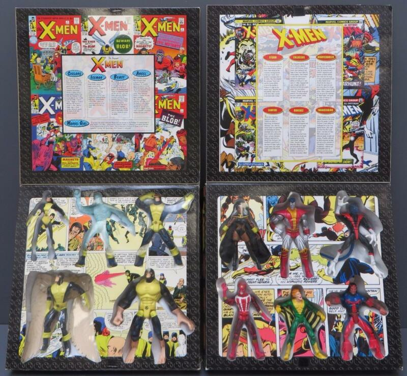 Marvel X-Men Action Figures Collector Ed Original Classic Giant Size Box Set Lot