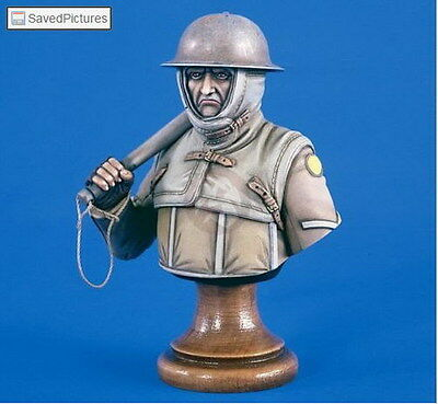 Verlinden 200 mm Bust VP 1876 English Soldier Des 1. World War