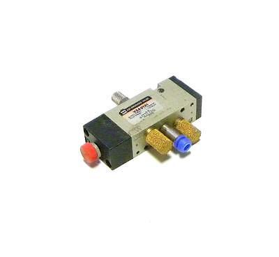 Smc  Vza2121  Manual Pneumatic Valve 116 Npt