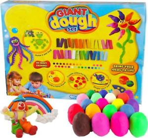 Giant 30 Piece Play Dough Set Craft Modelling Doh, Clay Moulding Toy