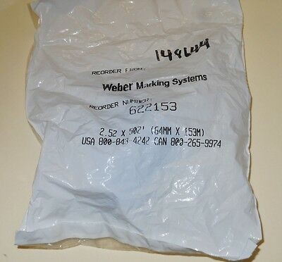 Beckman - Cat.#148644, Thermal Transfer Ribbon, Weber Marking Systems-#622153