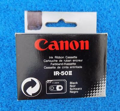 New 2-pack Canon Ir-50 Ii Ribbon Cassette Black See List Of Models Free Shipping
