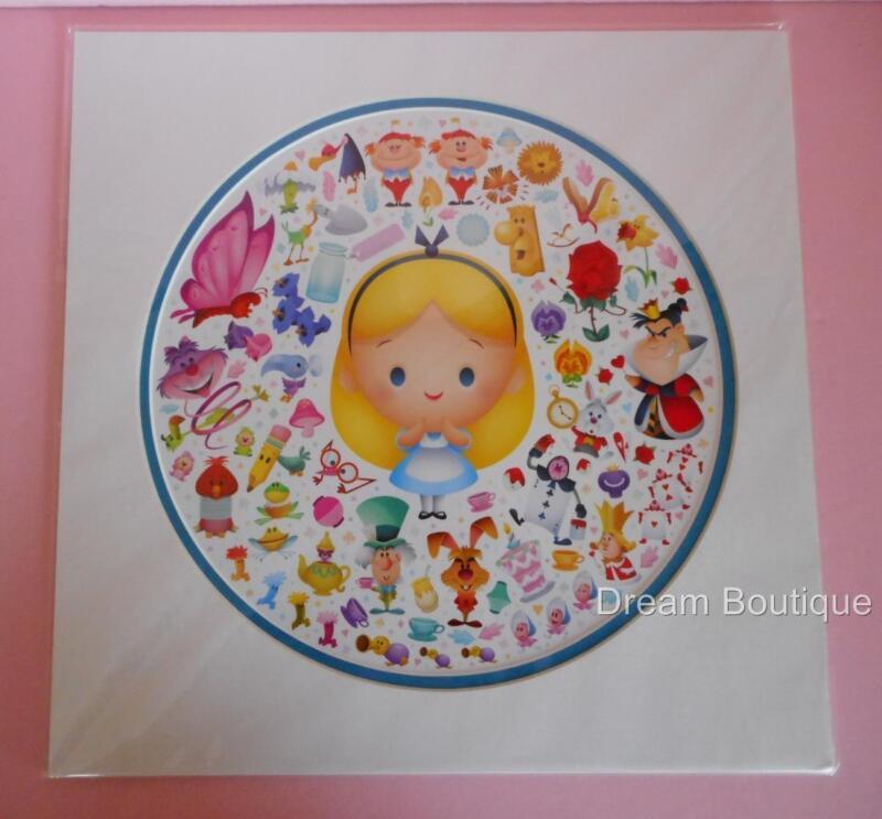 Jerrod Maruyama Wonderland of Cute Print Disney Resort from Wonderground NWT