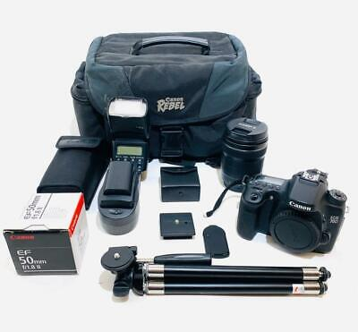 Canon EOS 70D 20.2MP Digital SLR Camera Kit with Accessories