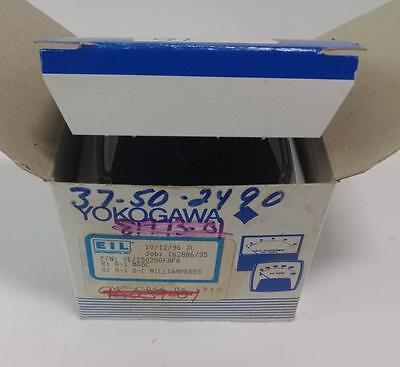 Yokogawa 0-150 Motor Load Panel Meter Ye250200fafa Type-250 Nib Pzb