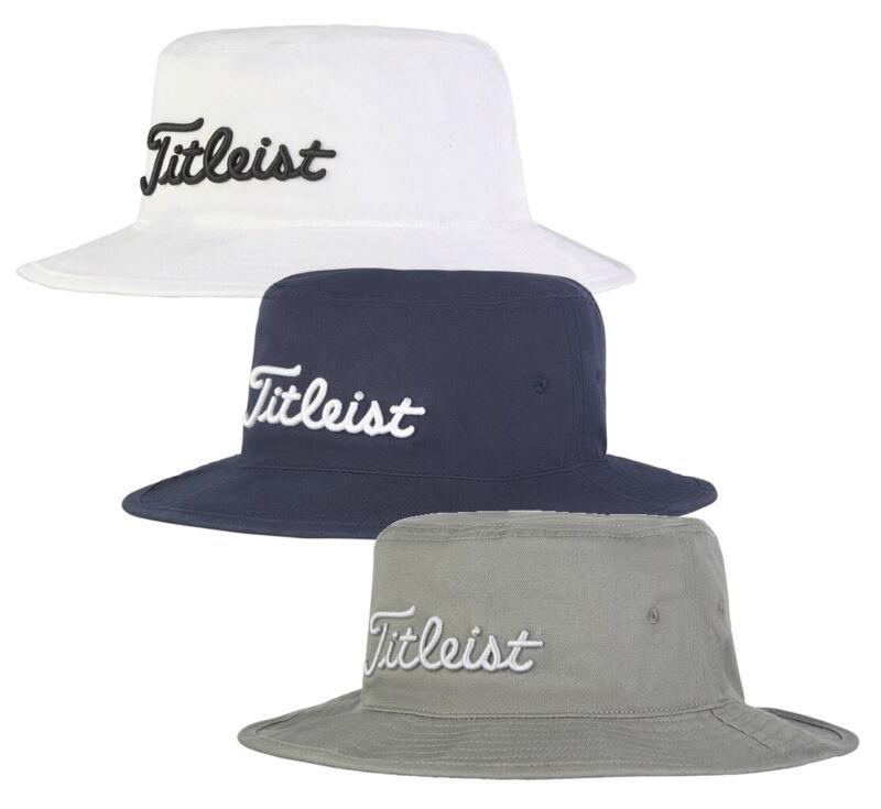 Titleist Cotton Bucket Full Brim Hat Golf Cap - New 2020 - Pick Color & Size