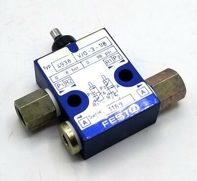 Festo 4938-vo-3-18 Pneumatic Limit Switch Valve
