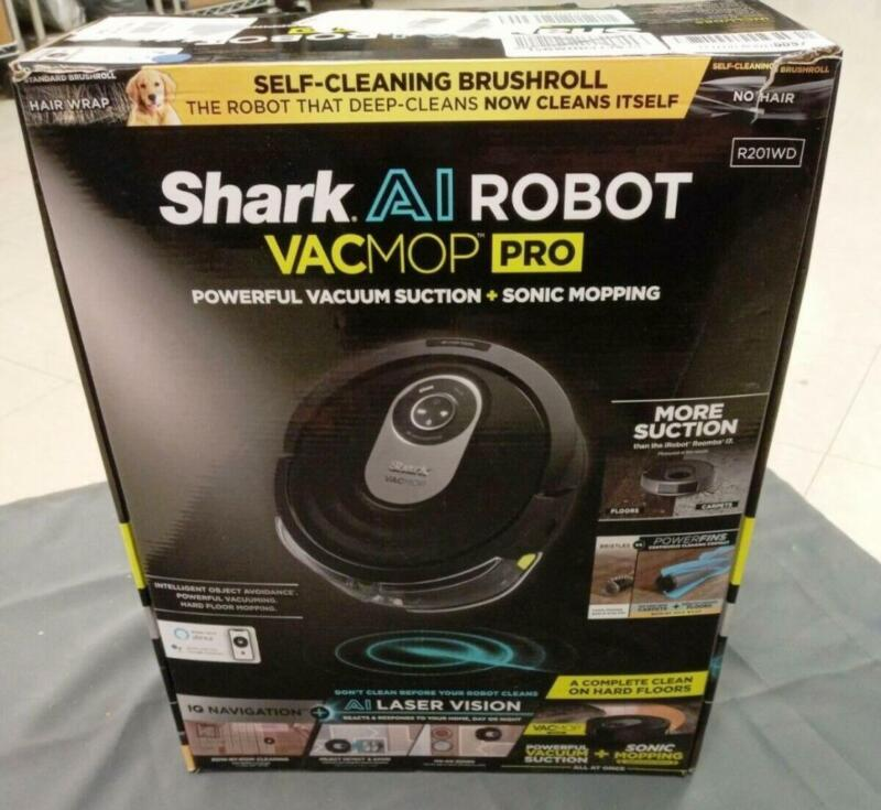 Shark AI VACMOP Robot Vacuum and Mop RV2001WD