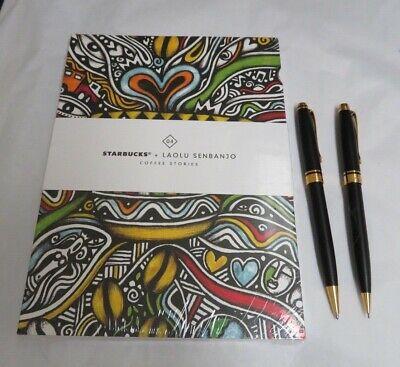 Starbucks Coffee Stories #4 Laolu Senbanjo  3 Pc.Notebooks/Journals, Pen Set