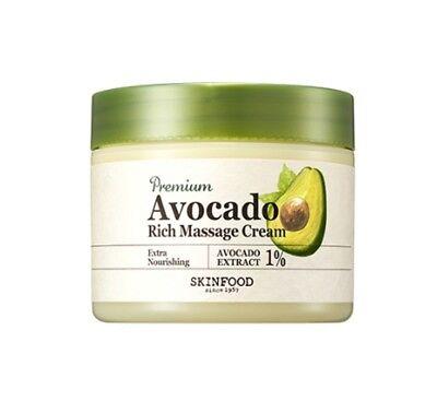 [SKIN FOOD] Premium Avocado Rich Massage Cream / 300ml  Big size