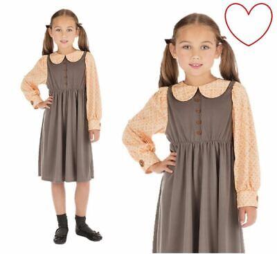 Girls Victorian School Childrens Costume Book Week Fancy Dress](Victorian Costumes For Girls)