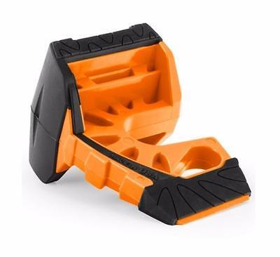 Wedge-It 3 in 1 Ultimate Door Stop Heavy Duty Lexan Plastic Rubber Shim (ORANGE)
