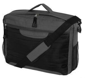 17-15-Widescreen-Laptop-Notebook-Bag-Carry-Case-Briefcase-Black-Grey-Classic