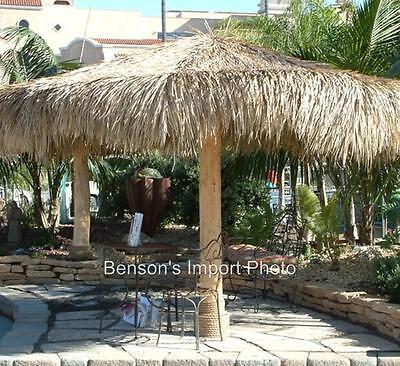 Palapa Palm Leaf Thatch 7' Round Umbrella Cover Commercial Grade Tiki Bar