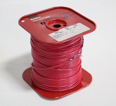 Belden 8868 Red High Voltage Lead Cable 500 Ft