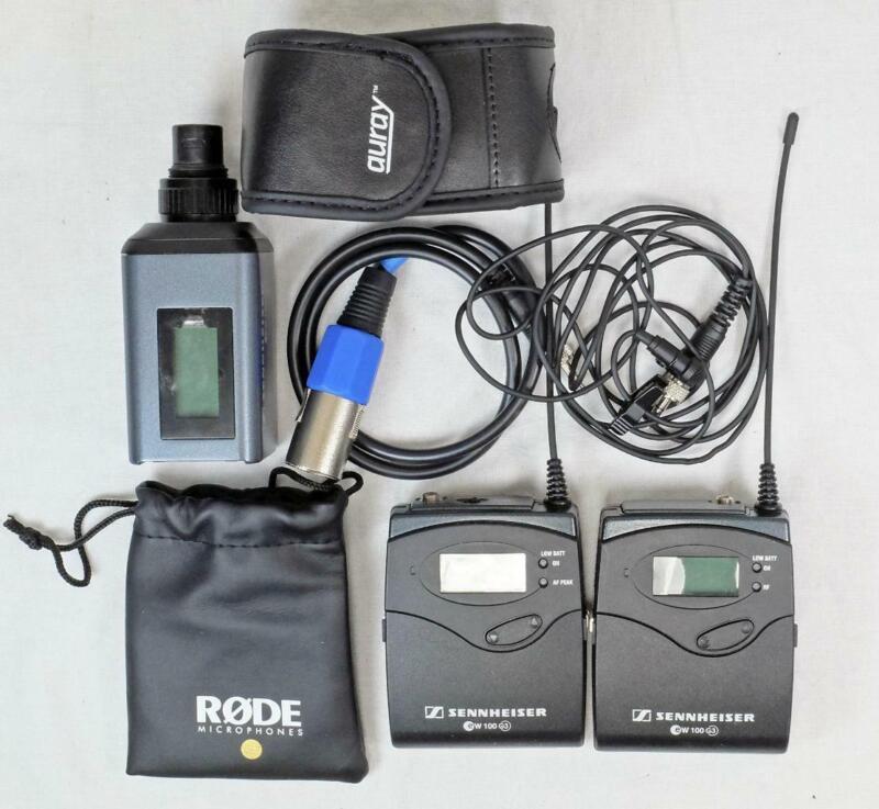 Sennheiser EW 100 G3 Kit w/ RØDE Lav Microphone - CLEAN! (5689)