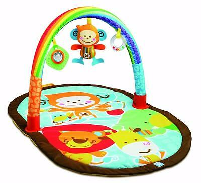 Baby Travel Discovery Gym Compact Travel Activity Gym Baby Play Mat New