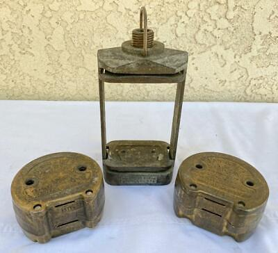 Hanau Brass Varsity Mold Upper Lower Denture Press