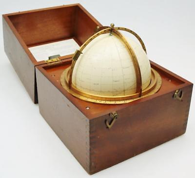 Rare Vintage Celestial Star Globe By Kelvin Hughes London c1975 In Original Box