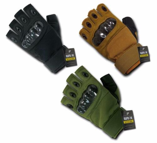 RAPDOM Tactical Carbon Fiber Hard Knuckle Gloves