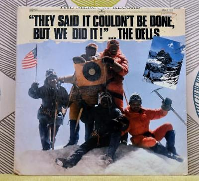 THE DELLS - They Said It Couldn't Be Done... [Vinyl LP,1977] USA SRM-1-1145 *EXC