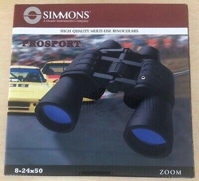 Simmons Prosport 8-24x50 Zoom Binoculars