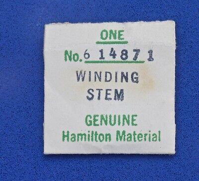 Vintage Hamilton Watch Winding Stem 614871 For Hamilton Grades 604 To 610