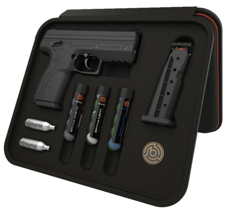 Byrna Personal Pepper Spray CO2 68 Cal 5rd Black Frame Model# BK68300BLACK