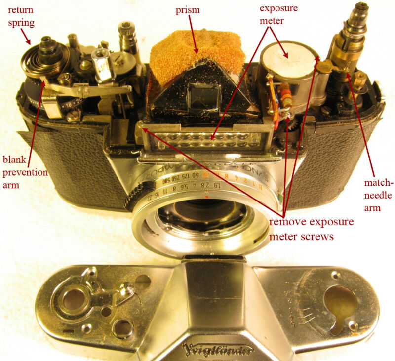 Repair Instructions for the VOIGTLANDER Bessamatic and Bessamatic DeLuxe - efile