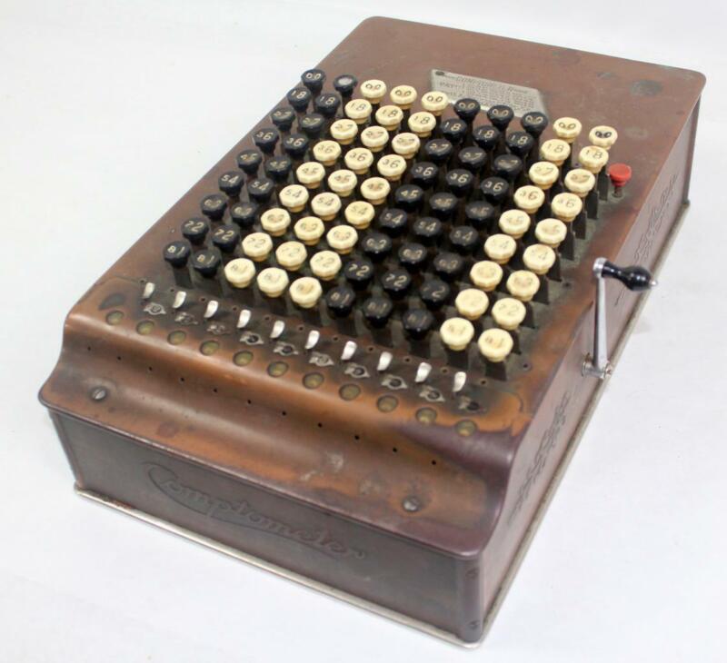 Vintage Felt & Tarrant Comptometer ~ SN#208438