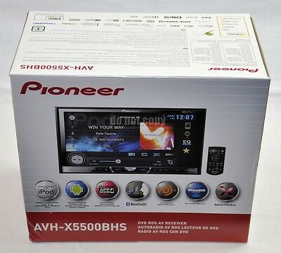 "Pioneer AVH-X5500BHS 7"" Touchscreen W/ Bluetooth DVD/MP3/USB 2-Din Receiver on Rummage"