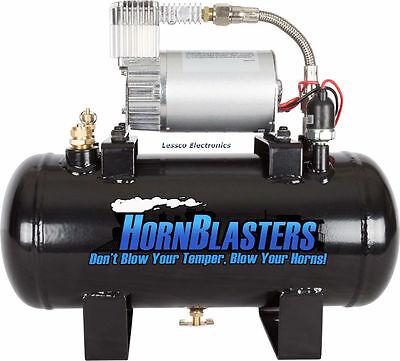 Hornblasters Mc-127h 1.5 Gallon 120psi Air Source Kit Tank Compressor Unit
