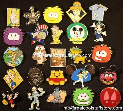 Disney Pin Lot 100 - No Duplicates - FREE US Shipping