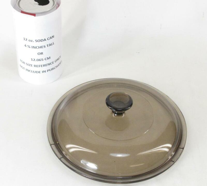 """Corning PYREX Brown Replacement Glass LID V 1.5 C 7"""""""