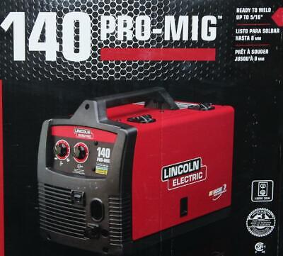 Lincoln Electric K2480-1 20-volt 140-amp Pro Mig Flux-cored Wire Feed Welder New