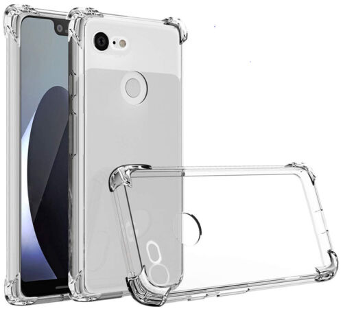 Transparent airbag protective case for Google pixel 3A mobile phone