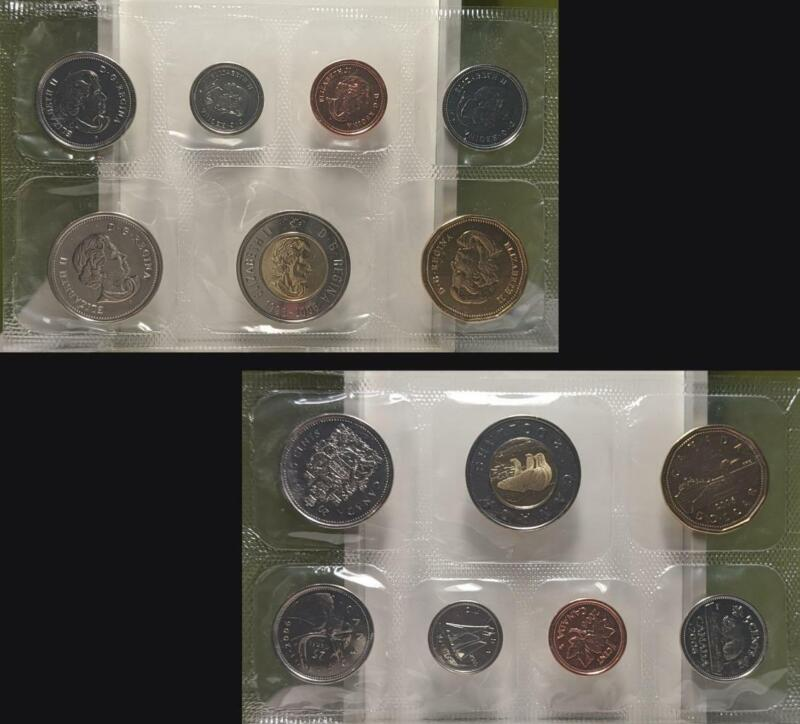 2006 Royal Canadian Mint Uncirculated Coin Set with CoA