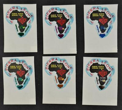 SIERRA LEONE STAMPS SET 6 1970 U/M  (Z99)