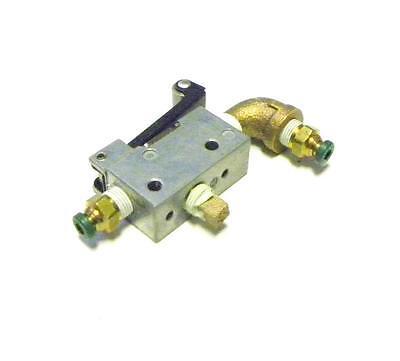 Aro 203-c Pneumatic Manual Air Switch Valve 18 Npt