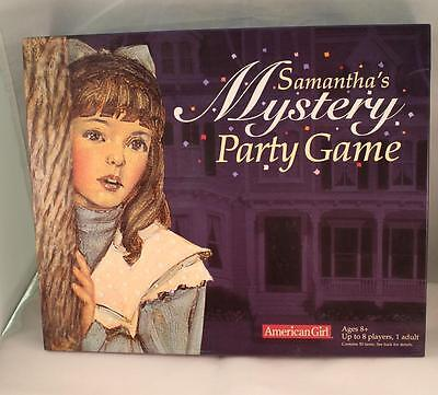 Samantha's Mystery Party Game The American Girls #59865 American Girl