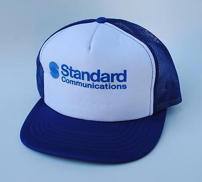 STANDARD COMMUNICATIONS Trucker Baseball Cap Hat One Size Snapback (Standard Hat Size)