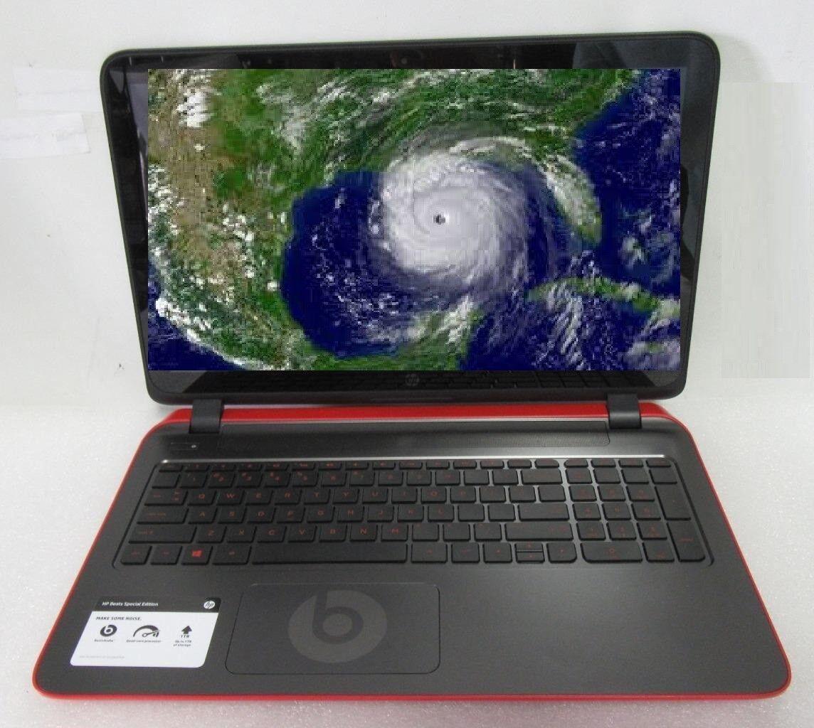 HP Pavilion Beats 15-Laptop 4GB 250GB DVD+RW Laptop,Windows 10, Office 365