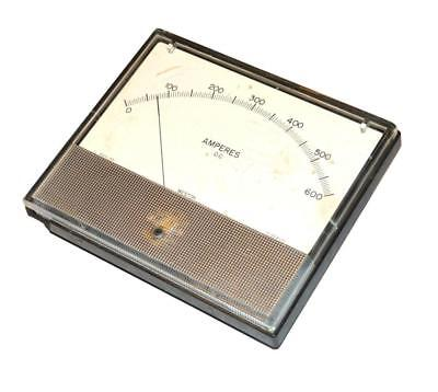 Weston 1971 Panel Meter 0-500 Dc Amperes
