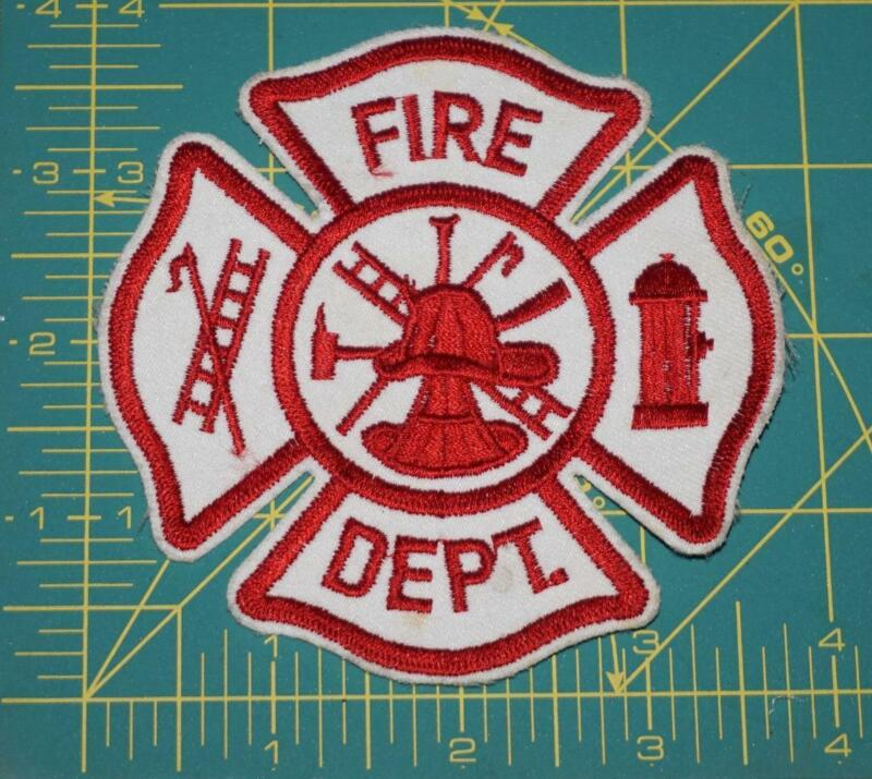 FIRE DEPT PATCH (0201)