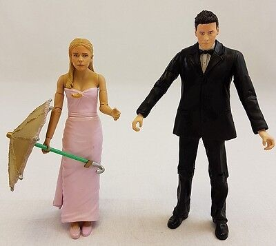 Buffy and Angel the Prom Action Figures PX Previews Exclusive Vampire Slayer Toy