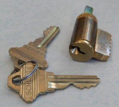 Schlage Key In Knob Or Lever Cylinder 605 Finish Sc1 Keyway New 2 Keys